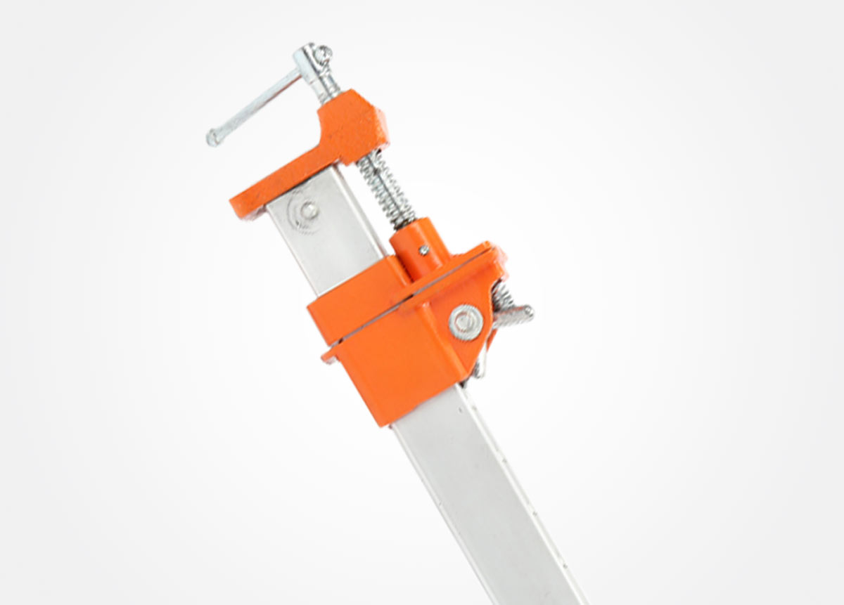 Aluminum bar clamp