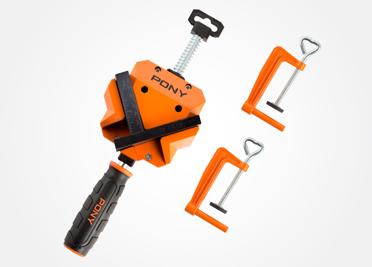 Angle clamp with table clamps